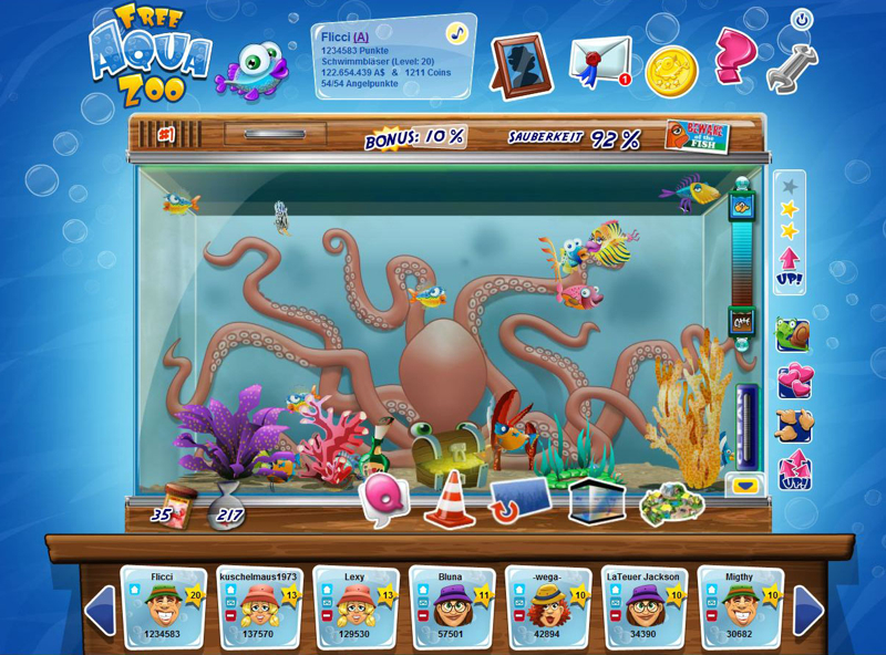 free aqua zoo free browsergames free browsergames. Black Bedroom Furniture Sets. Home Design Ideas